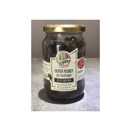 Olives Lucques noires 200g - OULIBO