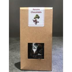 Bonbons chocolats aux Raisins 120g - NOUGALET